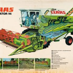 Claas Dominator 96 poster