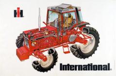 International 1055XL poster