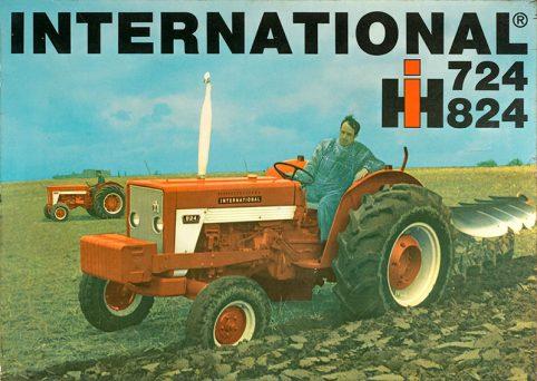International 724-824 poster