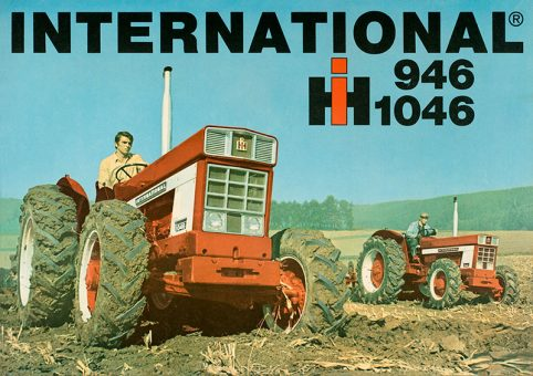 International 946-1046 poster